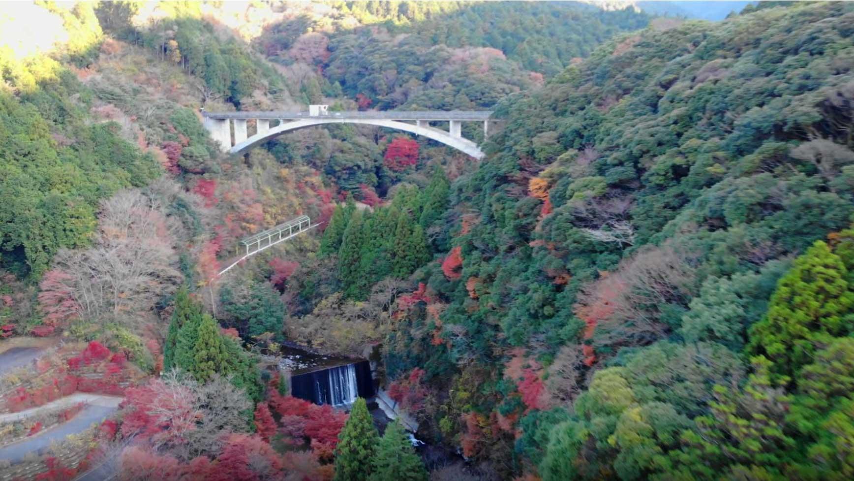 富士山駿河湾エリア観光PV須津川渓谷